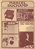 Duchamp du signe: Ecrits (French Edition) (2080607723) by Duchamp, Marcel