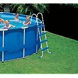 Intex Einstiegsleiter für Pools bis 122 cm Höhe, Mehrfarbig