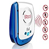FIIL New Pest Control Ultrasonic Repellent- Best Electronic Plug In Pest Repeller- Repels Mice, Rats, Roaches, Spiders, & Other Insects - Home Pest Control Solution