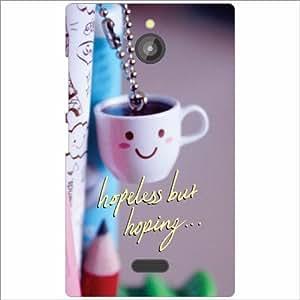 Nokia X2 Back Cover - Hopeless Designer Printed Cases