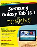 img - for Samsung Galaxy Tab 10.1 For Dummies (For Dummies (Lifestyles Paperback)) by Gookin, Dan (2012) book / textbook / text book