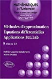 M�thodes d'approximation : �quations diff�rentielles - Applications Scilab, niveau L3