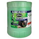 Slime SDSB-5G 5 Gallon (640 Ounces) Automotive Accessories (Color: Green, Tamaño: 5 Gallon (640 Ounces))