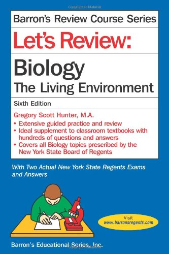 Let'S Review: Biology, The Living Environment (Barron'S Review Course)