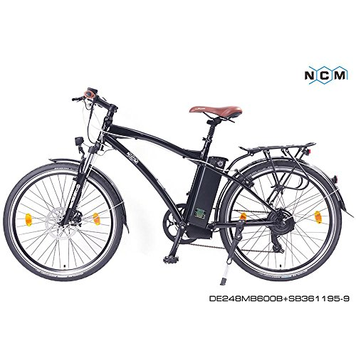 ncm essen elektrofahrrad e bike 26 city bike unisex. Black Bedroom Furniture Sets. Home Design Ideas