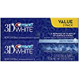 Crest 3D White Arctic Fresh Icy Cool Mint Flavor, Whitening Toothpaste, Twin Pack, 5.5 Oz Each