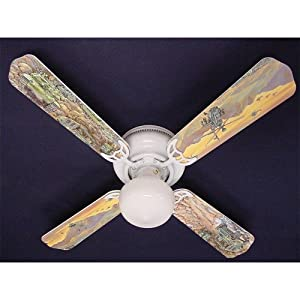 "Army Tanks, Military Helicopter 42"" Ceiling Fan"