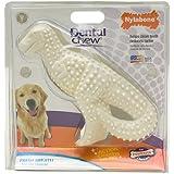 3 Pack Nylabone Durable Dental Dinosaur Chew Toy (Dinosaur Varies)