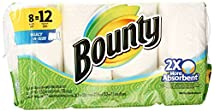 Bounty Select-A-Size Paper Towels White 8 Giant Rolls