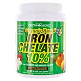Search : Grow More 7450 8-Ounce Organic Iron Chelate Concentrate