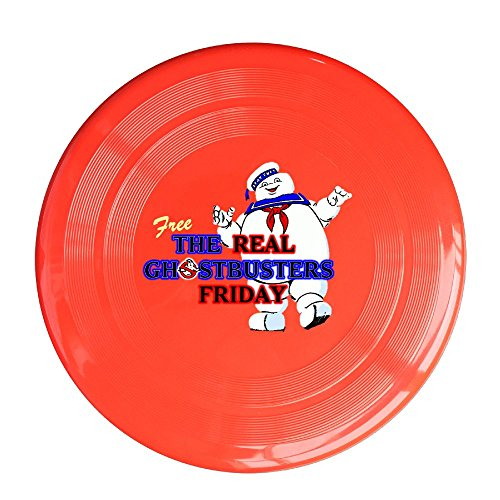 YQUE56 Unisex TheRealGhostbusters Outdoor Game, Sport, Flying Discs,Game Room, Light Up Flying, Sport Disc ,Flyer Frisbee,Ultra Star Red One Size (Hotel Transylvania 3ds Game compare prices)