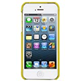 Melkco Leather Snap Cover for Apple iPhone 5 - Yellow