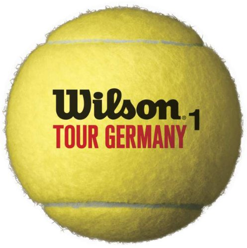 Wilson Tennisball Tour Germany, gelb