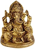 Exotic India Lord Ganesha - Brass Statue