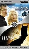 echange, troc Coffret Blockbuster 2 UMD : The Island / Batman begins