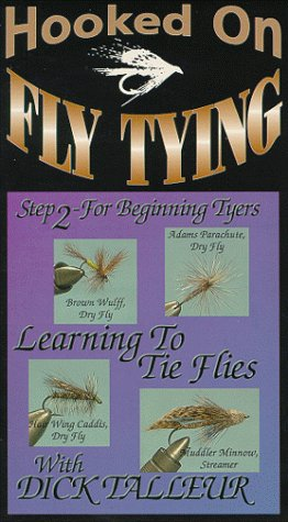 Hooked On Fly Tying, HDT6 Learning to Tie Flies Step 2 - Dick Talleur [VHS]
