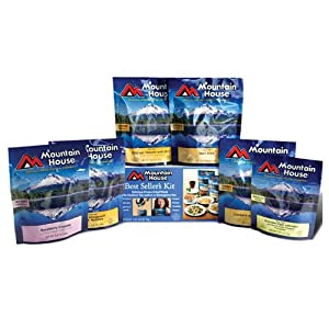 Mountain House Just in Case Freeze Dried Food Assortments by Mountain House