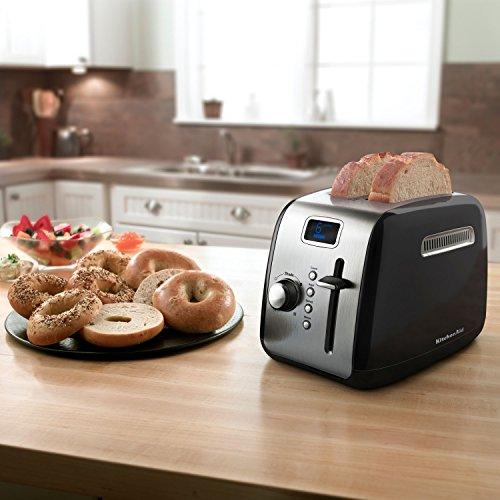 Kitchenaid® Black 2-Slice Digital Toaster