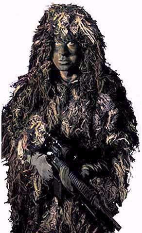 Rothco BushRag Paintball/Airsoft Ghillie Suit Kit