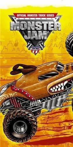 Terrific Monster Truck Jam Tablecover (6.2 X 1.8 X 1.8 Inches ; 4 Ounces) - Kids' Party Supplies Jouets, Jeux, Enfant, Peu, Nourrisson
