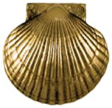 Michael Healy Designs Sea Scallop Door Knocker, Brass