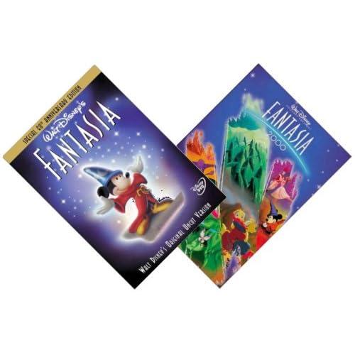 Amazon.com: {2 Dvd Walt Disney Set} Fantasia (60th Anniversary Special