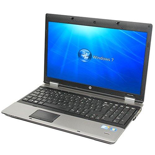 HP Probook 6550b 中古ノートパソコン 【 Windows7 Professional 32bit / Intel Core i5 CPU M460 @ 2.53GHz / メモリ4GB / HDD250GB / DVD-ROM 】【中古パソコン】【中古PC】【中古】