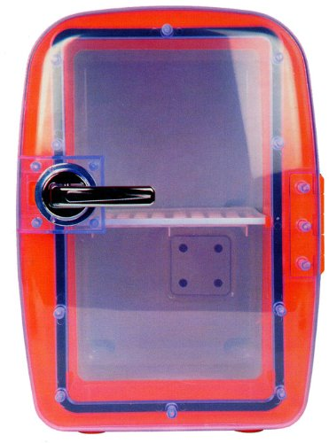 MINI FRIGO CONVERTIBLE CHAUD OU FROID 6L - ORANGE