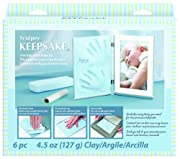 Sculpey Keepsake Clay Frame Set, Blue