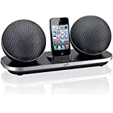 iLive Wireless Portable Speakers for iPod/iPhone - Retail Packaging - Black
