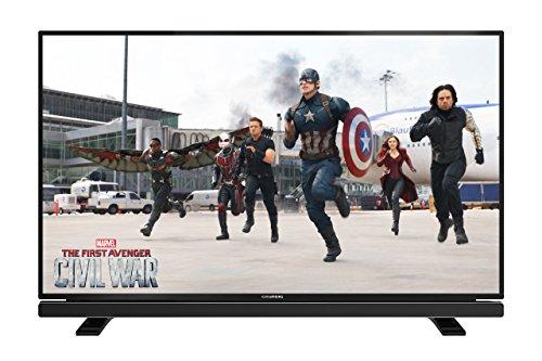 Grundig-Televisor con retroiluminación LED (Full HD, 600Hz PPR, 3x HDMI, CI +, 2x USB 2.0)