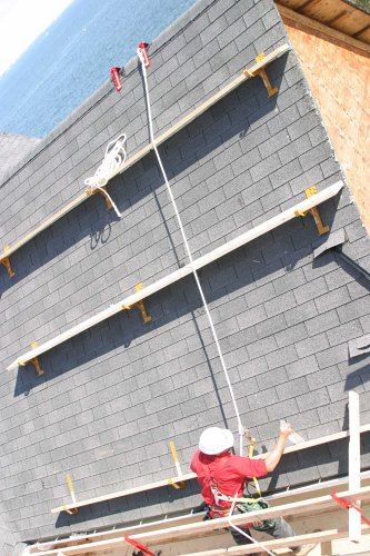Qualcraft 5200 Roof Peak Anchor Roof Ladder