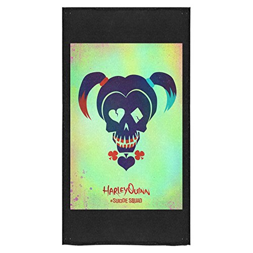[BJHKJ Suicide Squad Joker And Harley Quinn Beach Towel/Bath Towel/Pool Towel For Adults 30*56 Inch] (Baby Megamind Costume)