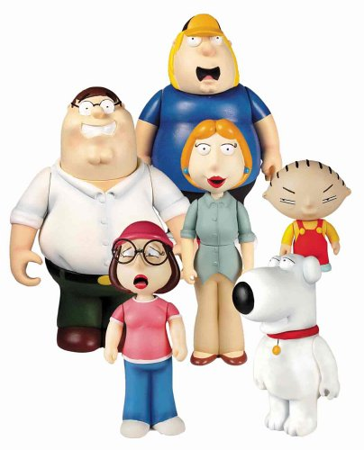 Picture of Mezco Family Guy Action Figure Set (B0009N1KCK) (Mezco Action Figures)
