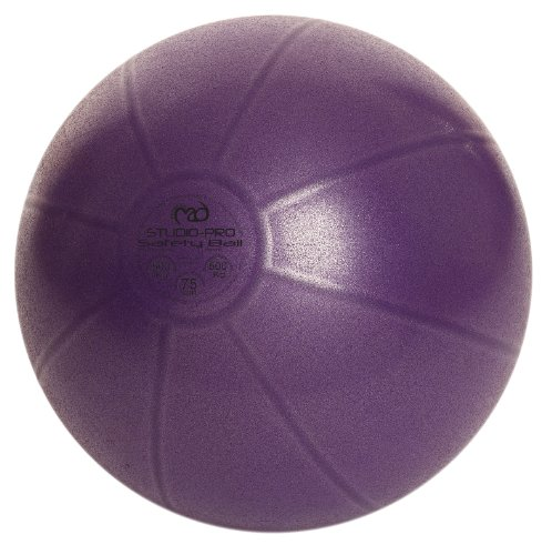 Fitness-Mad Studio Pro 500Kg Swiss Ball 55cm & Pump - Purple