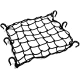 Classic Accessories 78187 QuadGear Black ATV Stretch Cargo Net, Fits ATVs, Motorcycles, and Snowmobiles