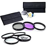 7 Piece Filter Sets 58mm UV CPL FLD Filters +Macro Close Up 1 +2 +4 +10 +Lens Cleaning Kit With Case For Canon EOS 1100D 600D 700D 1200D 400D 100D 650D 7D 60D 70D 5D 60D 10D 550D 350D 100D 300D