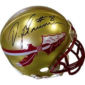 DeVonta Freeman Autographed Florida State Seminoles Mini Helmet (JSA) - Autographed... by Sports+Memorabilia