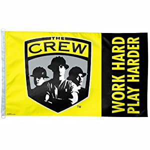 MLS Columbus Crew 3-by-5 foot Flag Work Hard by WinCraft