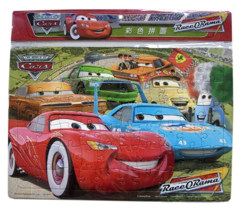 Cheap Fun Disney Cars Jigsaw – McQueen Puzzle Playset 60 pcs (B002OKDCLI)