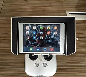 Anbee® DJI Phantom 3 Inspire 1 FPV Monitor Sonnenschirm Sonnenverdeck für Tablette MID iPad Mini iPad Air Air 2 Galaxy Tab Pro S, 5.5inch Mobiltelefon iPhone 5 5s 6 6plus Samsung Galaxy S5 S6...