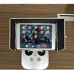 Anbee® DJI Inspire 1 Phantom 3 FPV Monitor Sonnenschirm Sonnenverdeck für Tablette MID iPad Air Air 2 (9.7