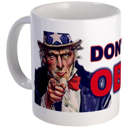 Cafepress Don'T Trust Obama Mug - Standard