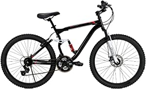 Huffy 26-Inch Men's DS-7 Dual Suspension Bike (Black)