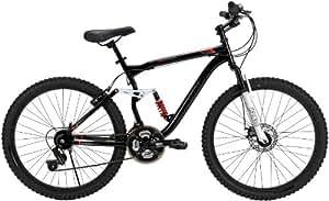 Huffy 26-Inch Men's DS-7 Dual Suspension Bike (Black)