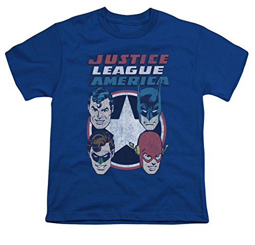 Justice League 4 Stars Youth T-Shirt