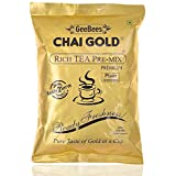 GeeBees Chai Gold Instant Premix Plain Tea Sweetened, 500 G
