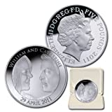 2011 Great Britain Royal Wedding ?5 1 Oz Silver Proof