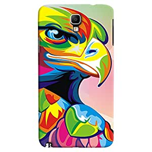ColourCrust Galaxy Note 3 Neo Mobile Phone Back Cover With Animal Art - Durable Matte Finish Hard Plastic Slim Case