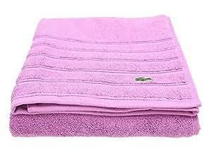 lacoste bath towels